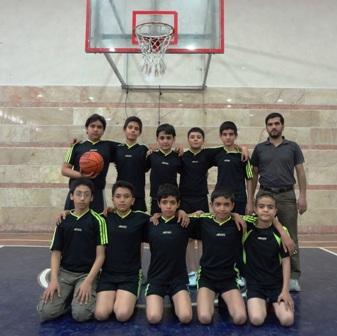 تیم بسکتبال دبستان کوثر پردیسان