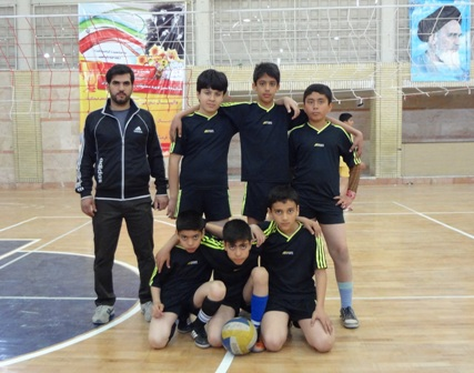 تیم والیبال دبستان کوثر پردیسان